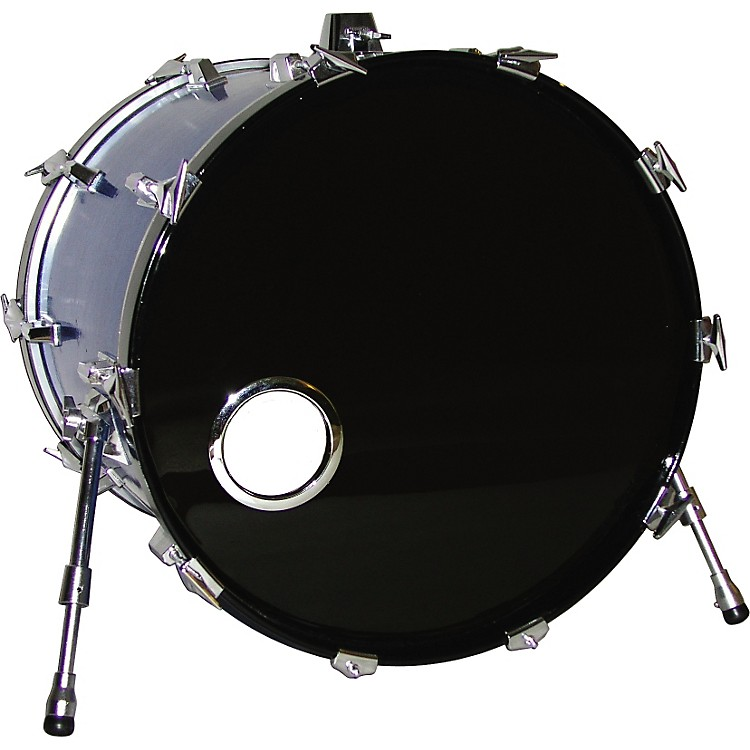 Bass Drum O's Bass Drum O's 4 in. Chrome