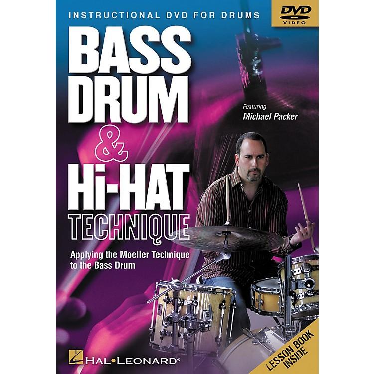 Hal LeonardBass Drum and Hi-Hat Technique Applying the Moeller Technique to the Bass Drum (DVD)