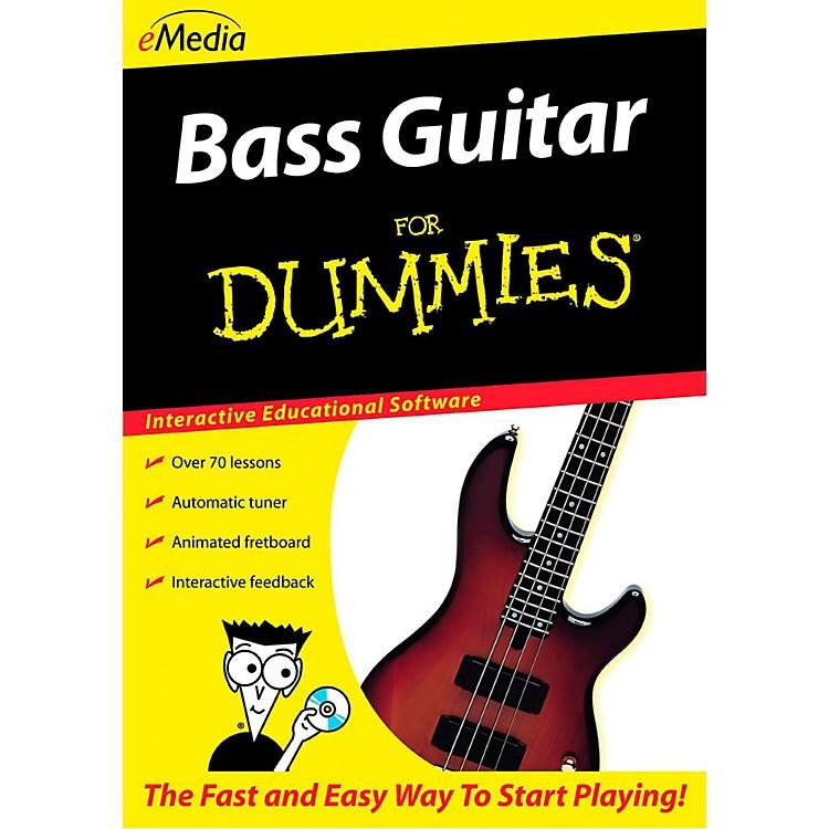 eMediaBass Guitar For Dummies - Digital DownloadMacintosh Version