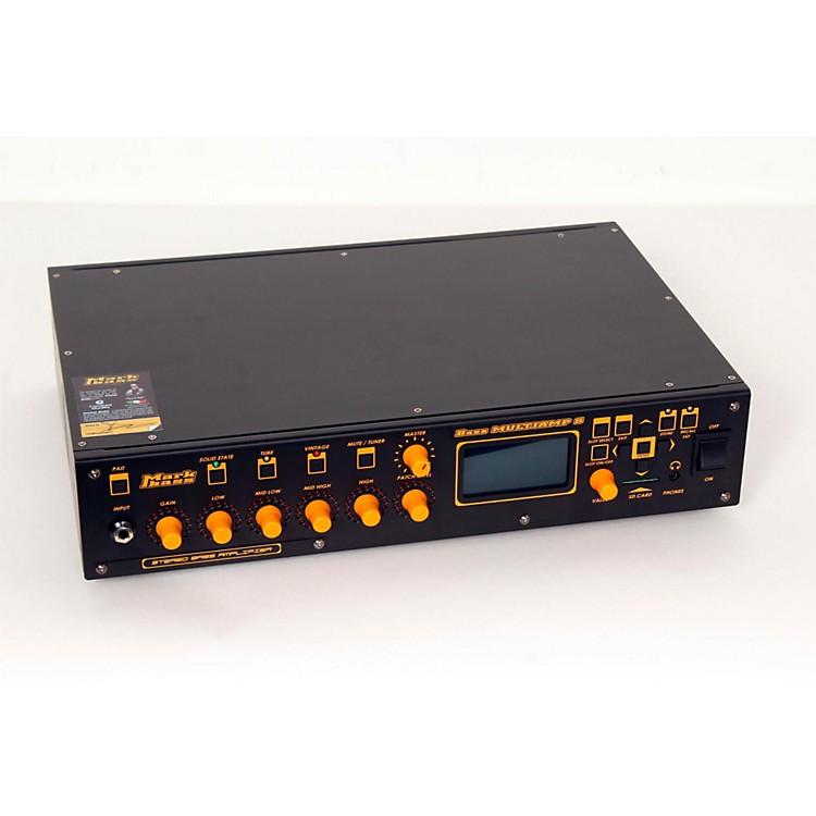 MarkbassBass Multiamp S Stereo 600W Bass Head with EffectsBlack888365665467