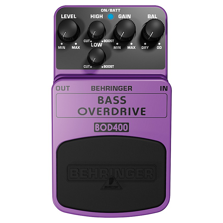 Behringer Bass Overdrive BOD400 Bass Effects Pedal