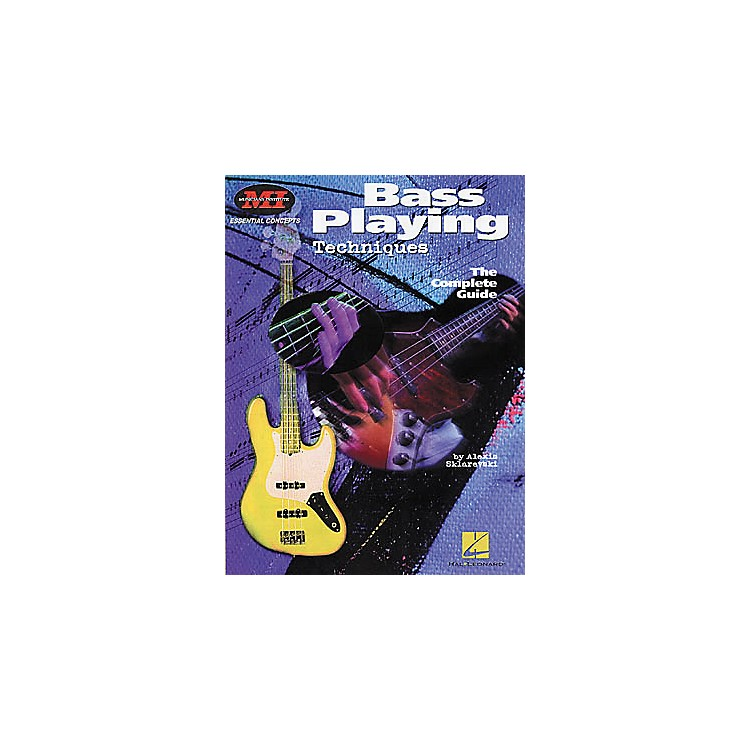 Hal LeonardBass Playing Techniques Book