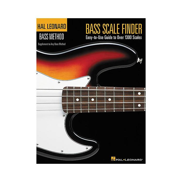 Hal LeonardBass Scale Finder Book