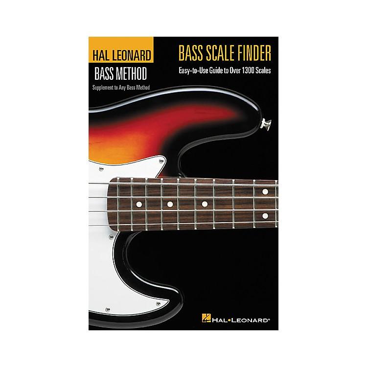 Hal LeonardBass Scale Finder(Book)
