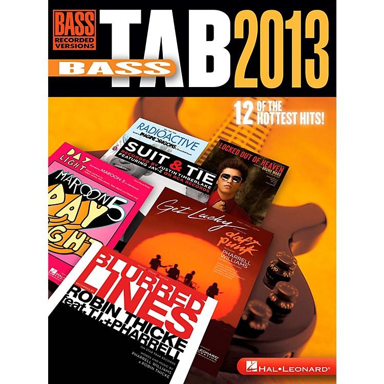 Hal LeonardBass Tab 2013