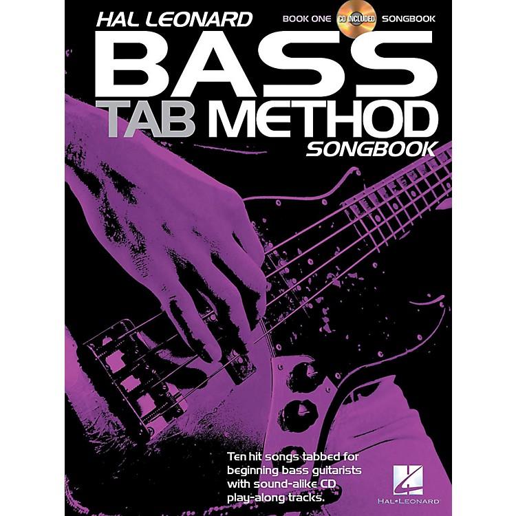 Hal LeonardBass Tab Method Songbook 1 Book/CD