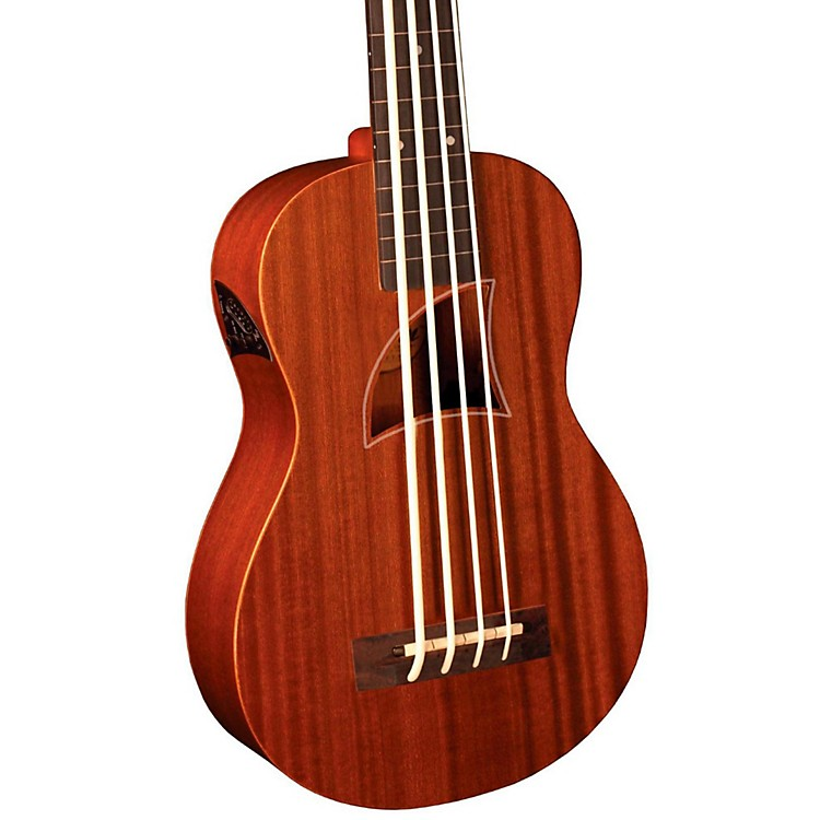 Eddy Finn Bass Ukulele Natural