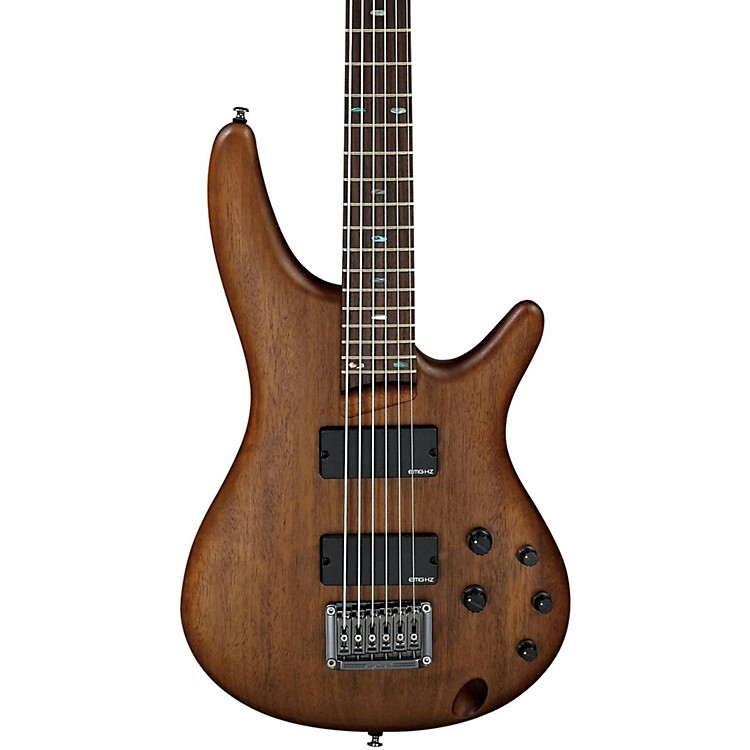 Ibanez Bass Workshop SR Crossover SRC6 6-String Electric Bass Flat Walnut