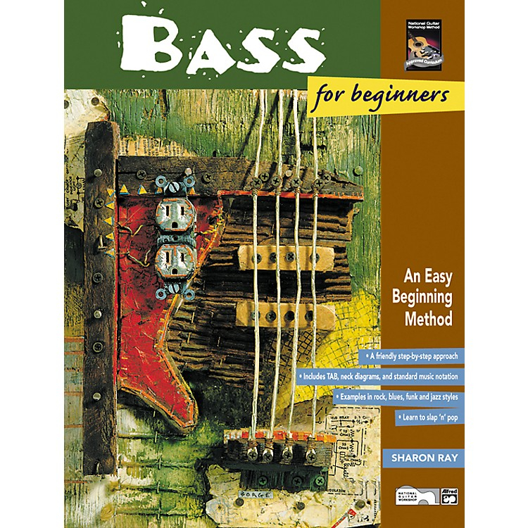 AlfredBass for Beginners and Rock Bass for Beginners Book with DVD