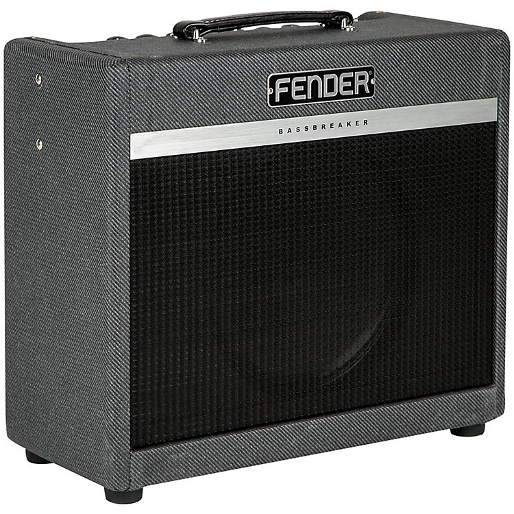 fender bassbreaker 15w 1x12 tube guitar combo amp music123. Black Bedroom Furniture Sets. Home Design Ideas