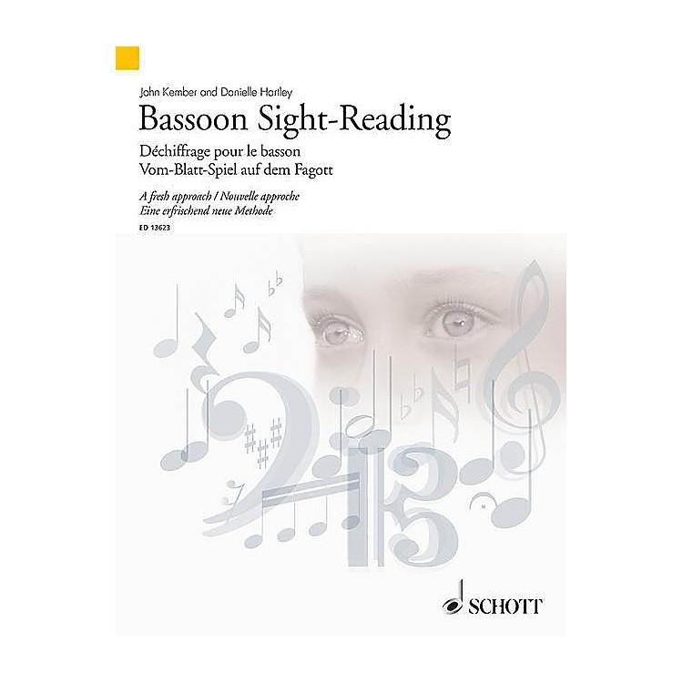 SchottBassoon Sight-Reading (A Fresh Approach) Woodwind Series Softcover Written by John Kember