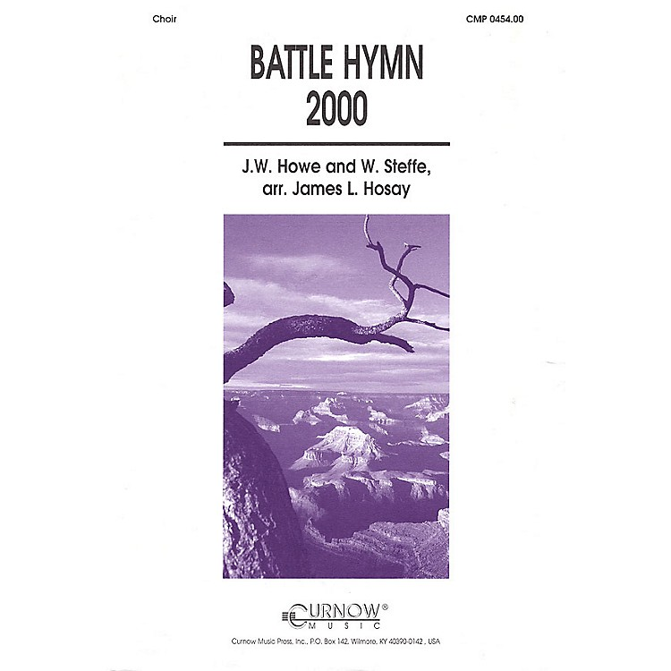 Curnow MusicBattle Hymn 2000 (Grade 4 Concert Band with Choir) Concert Band Level 4 Composed by James L Hosay