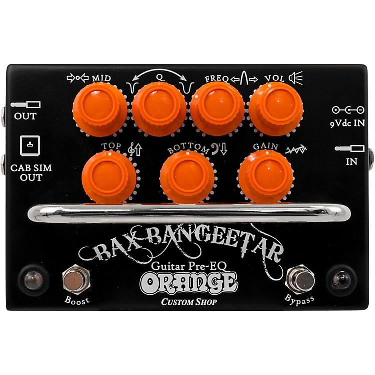 Orange AmplifiersBax Bangeetar Pre-EQ Guitar Effects PedalBlack