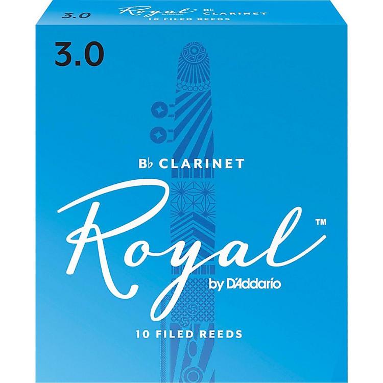Rico RoyalBb Clarinet Reeds, Box of 10Strength 3