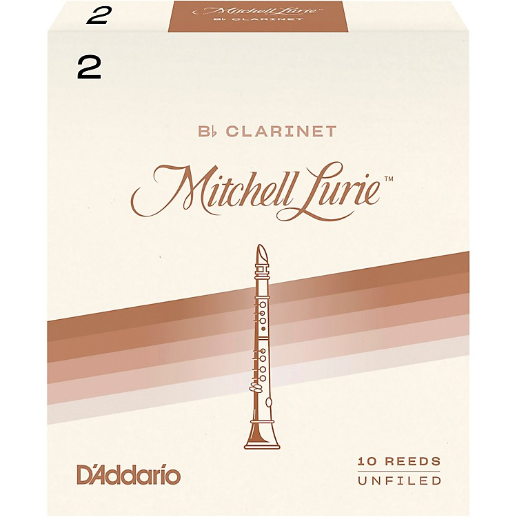Mitchell Lurie Bb Clarinet Reeds Strength 1.5 Box of 10