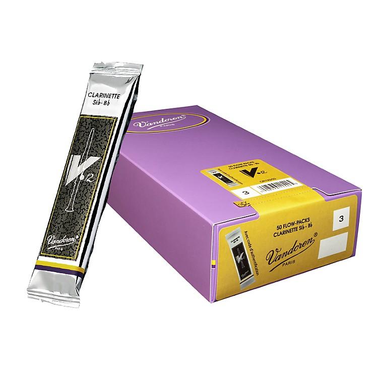VandorenBb Clarinet V12 Reed Box of 50