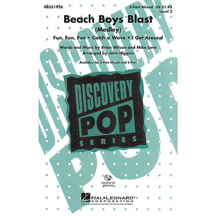 Hal LeonardBeach Boys Blast (Medley) VoiceTrax CD by Beach Boys Arranged by John Higgins