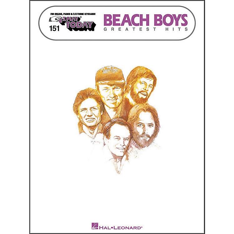 Hal LeonardBeach Boys Greatest Hits E-Z Play 151
