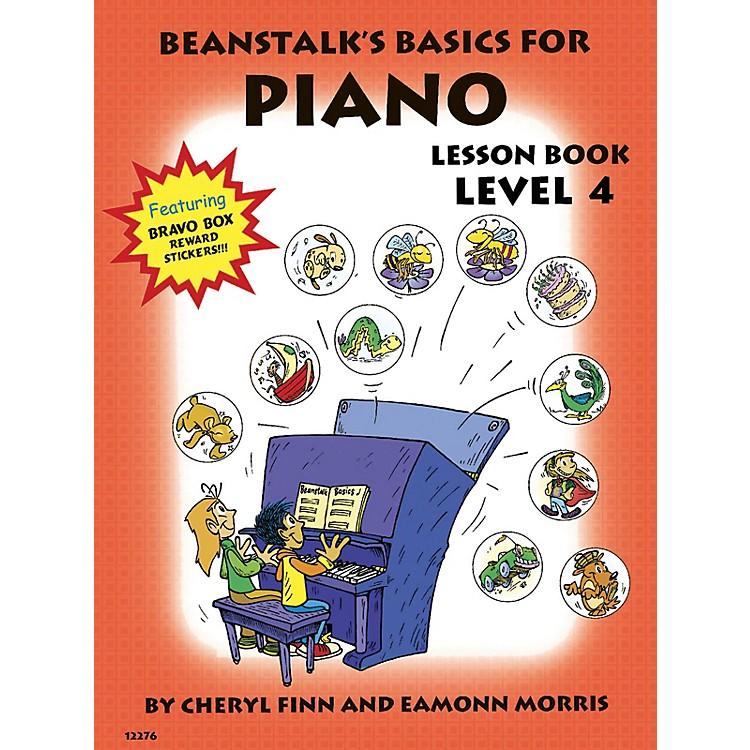 Willis MusicBeanstalk's Basics for Piano (Lesson Book Book 4) Willis Series Written by Cheryl Finn