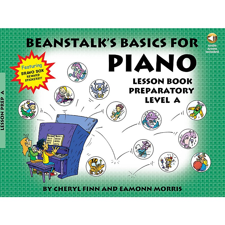 Willis Music Beanstalk's Basics for Piano Willis Series Softcover Audio Online Written by Cheryl Finn