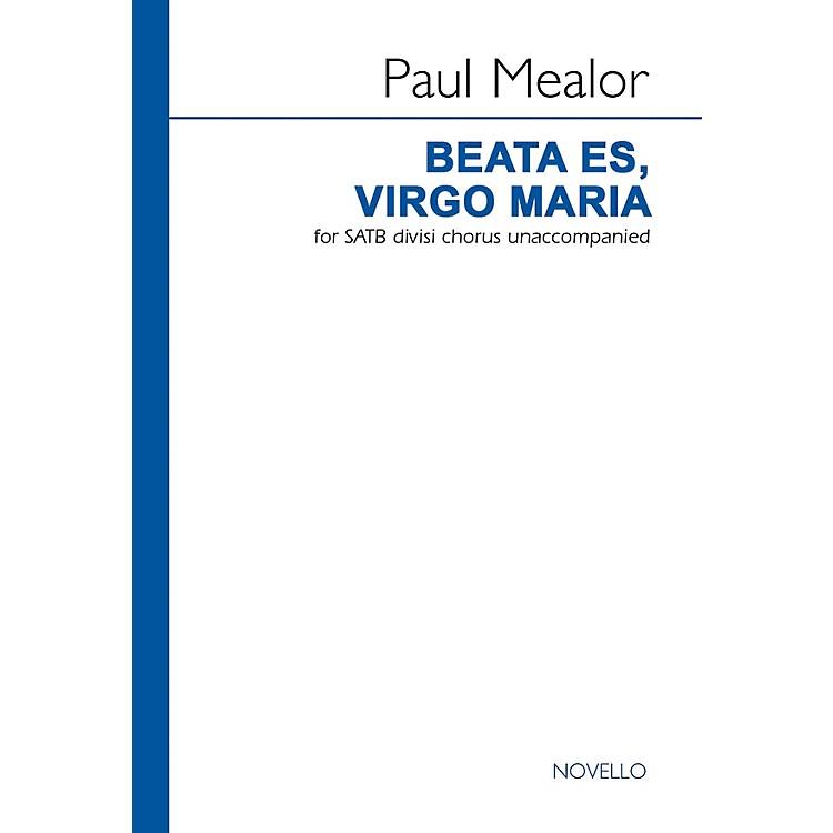 NovelloBeata Es, Virgo Maria SATB DV A Cappella Composed by Paul Mealor