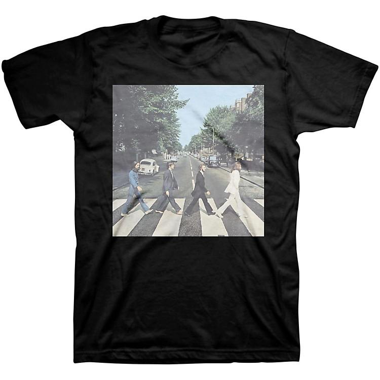 BravadoBeatles Abbey Road Mens T-ShirtBlackXX-Large