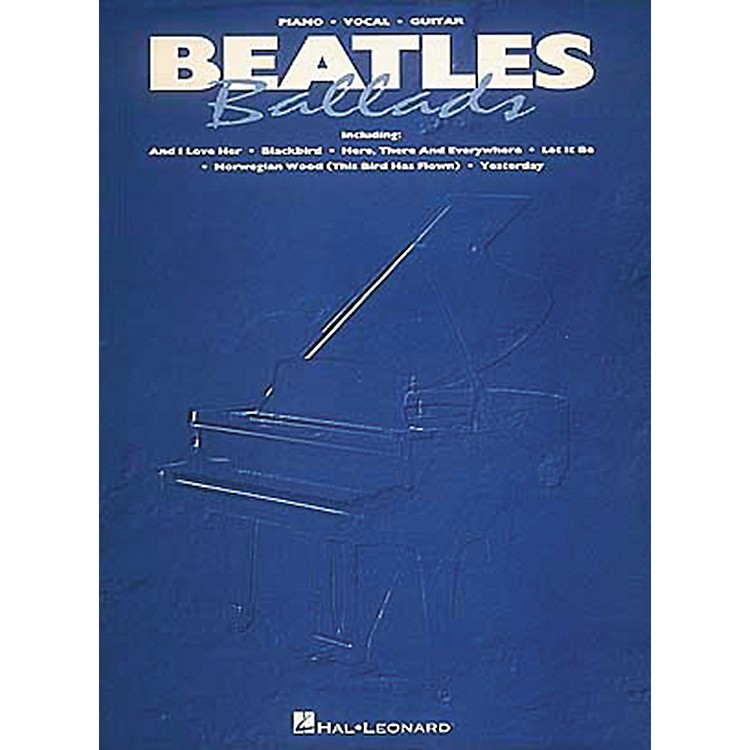 Hal LeonardBeatles Ballads Piano, Vocal, Guitar Songbook