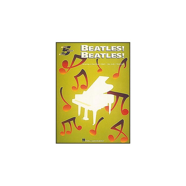 Hal LeonardBeatles Beatles for Five Finger Piano