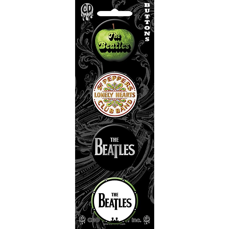 C&D Visionary Beatles Button set (4 piece)