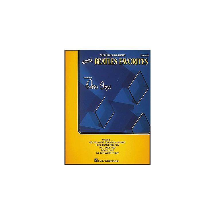 Hal LeonardBeatles Favorites for Easy Piano
