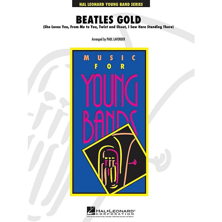 Hal LeonardBeatles Gold - Young Concert Band Level 3 arranged by Paul Lavender