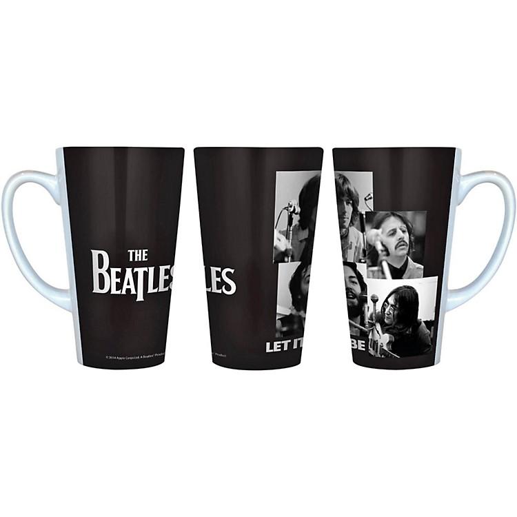 Boelter BrandsBeatles Let It Be - Black and White Latte Mug16 oz.
