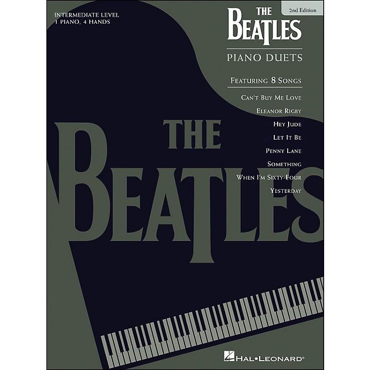 Hal LeonardBeatles Piano Duets 2nd Edition
