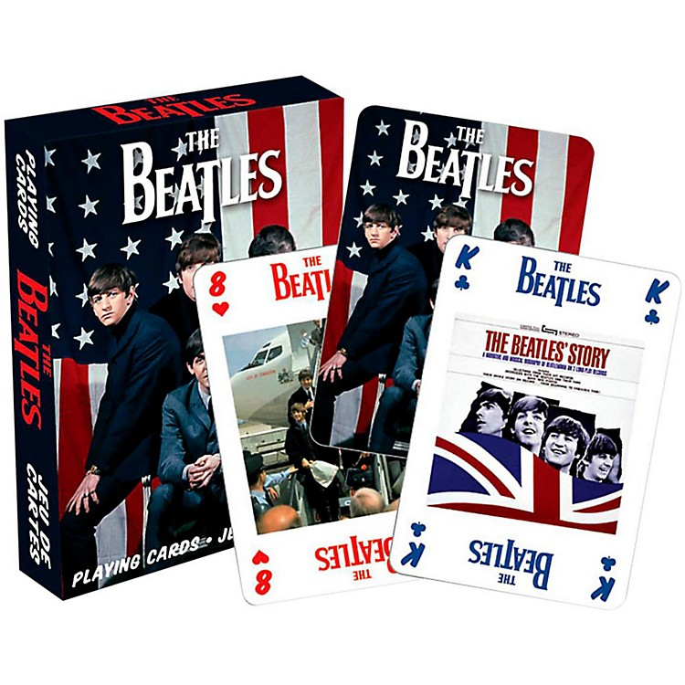 Hal Leonard Beatles USA Playing Cards Single Deck