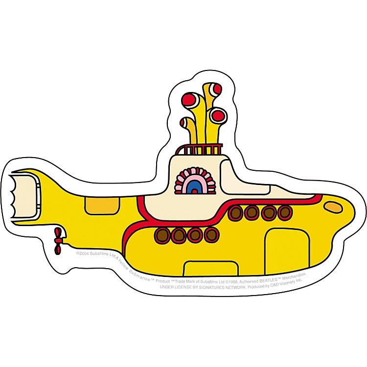 C&D VisionaryBeatles Yellow Submarine Sticker