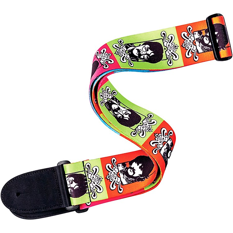 D'Addario Planet Waves&nbsp;Beatles<i> Sgt. Pepper's Lonely Heart's Club Band</i> 50th Anniversary Guitar Strap&nbsp;Sergeant Pepper's&nbsp;2 in.