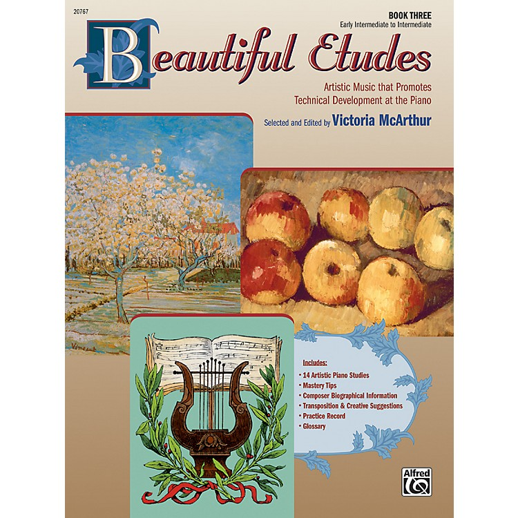 Alfred Beautiful Etudes Book 3