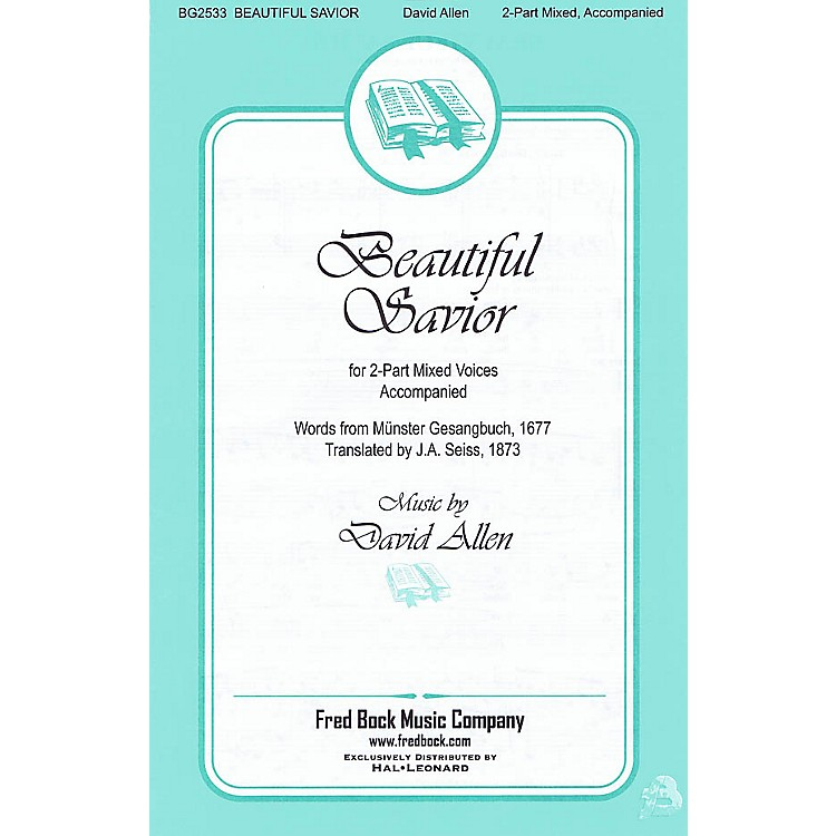 Fred Bock MusicBeautiful Savior 2-Part composed by David Allen