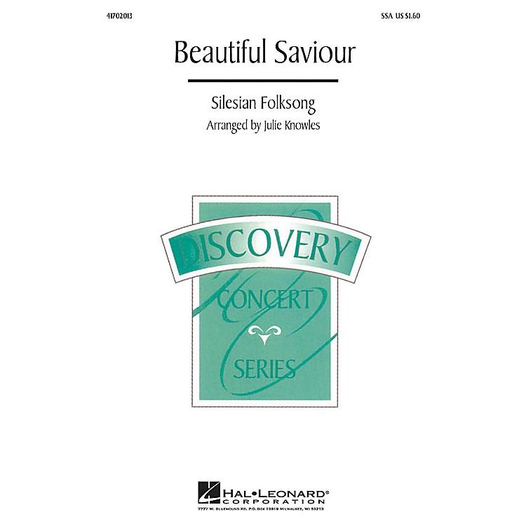 Hal LeonardBeautiful Savior SSA arranged by Julie Knowles