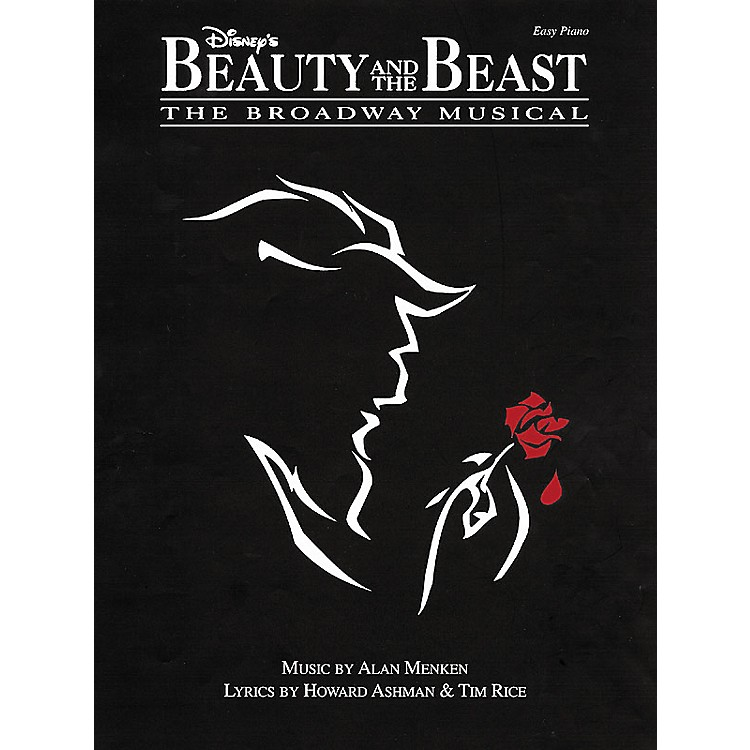 Hal Leonard Beauty & The Beast The Broadway Musical For Easy Piano