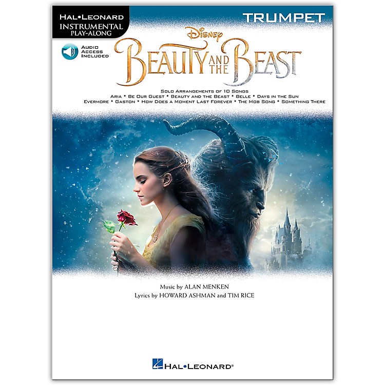 Hal LeonardBeauty and the Beast (Trumpet) Instrumental Play-Along Series Softcover Audio Online