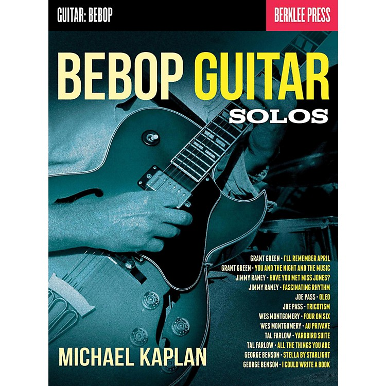 Berklee Press Bebop Guitar Solos - Berklee Press
