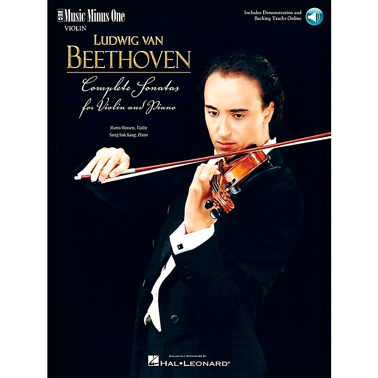 Music Minus OneBeethoven - Complete Sonatas for Violin & Piano Music Minus One Series Softcover with CD by Mario Hossen