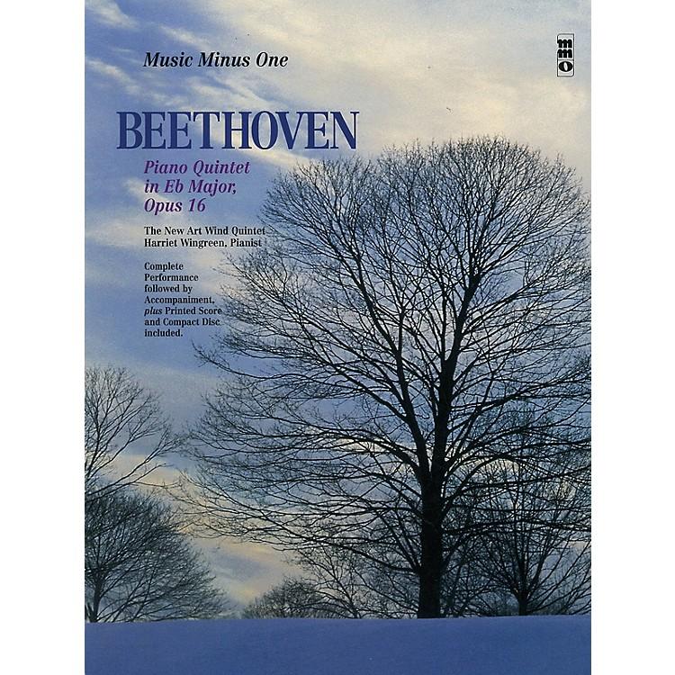 Music Minus OneBeethoven -  Piano Quintet in E-flat Major, Op. 16 Music Minus BK/CD by Ludwig van Beethoven
