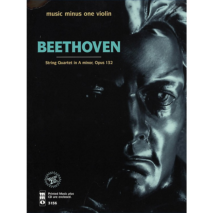 Music Minus OneBeethoven - String Quartet in A Minor, Op. 132 Music Minus One Softcover with CD by Vieuxtemps String Quartet
