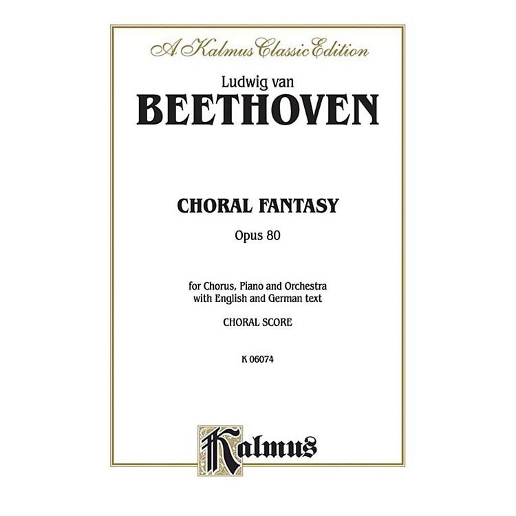 AlfredBeethoven Choral Fantasy Op. 80 SATB with SSATTB Soli Choir