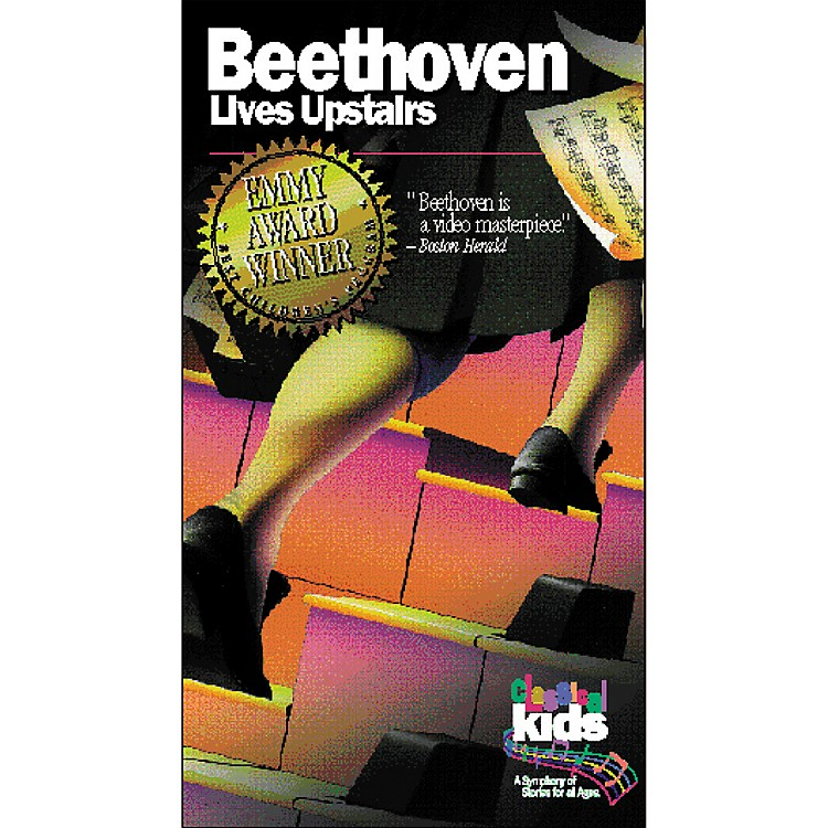 Children's Book Store Beethoven Lives Upstairs VHS Video
