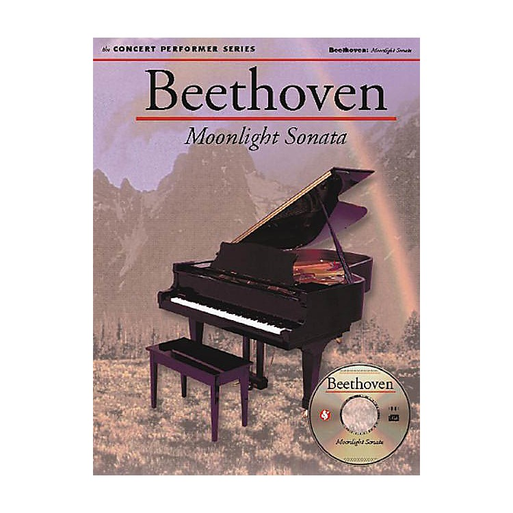 Music SalesBeethoven: Moonlight Sonata (1st Movement) Music Sales America Series Softcover with disk