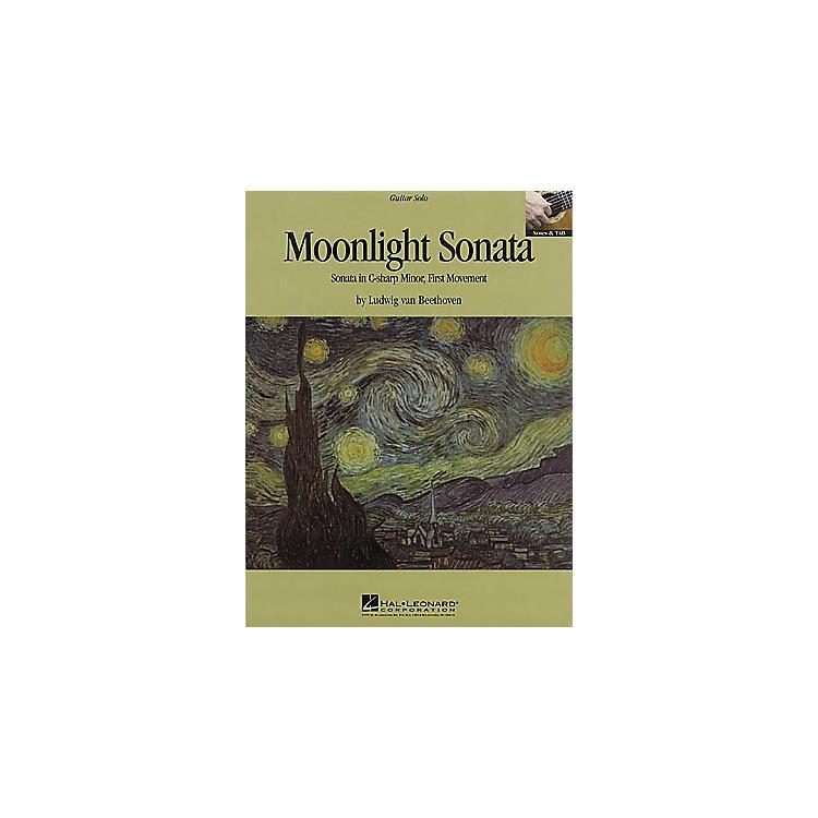 Hal LeonardBeethoven: Moonlight Sonata Guitar Sheet Music Book