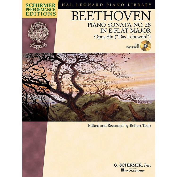 G. SchirmerBeethoven Sonata No 26 in E-flat Maj Op 81a (Das Lebewohl) Schirmer Performance Ed BK/CD Edited by Taub